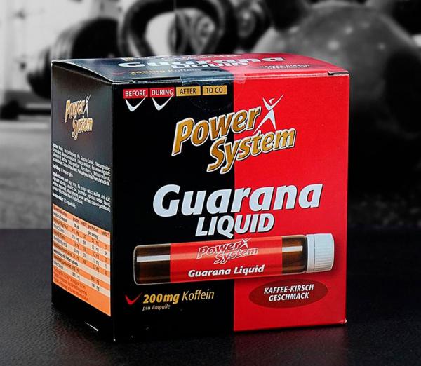 Гуарана, как спортивное питание: для чего и как её принимать?