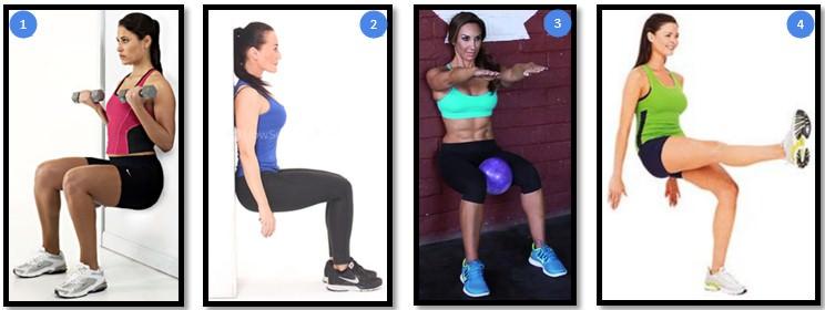 Упражнение стульчик у стены, как правильно делать. упражнение «стульчик» дома у стены: какие мышцы укрепляет   здоровое питание