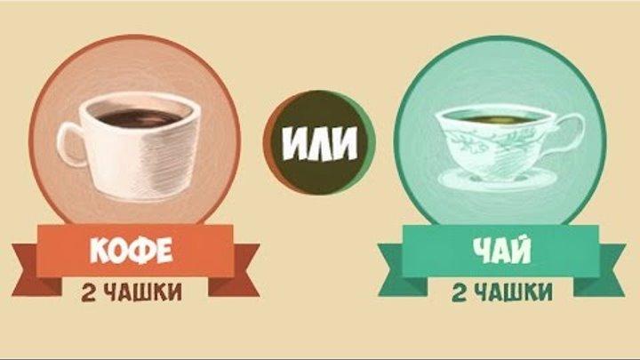 Чай или кофе: что полезнее для человека и лучше бодрит утром?