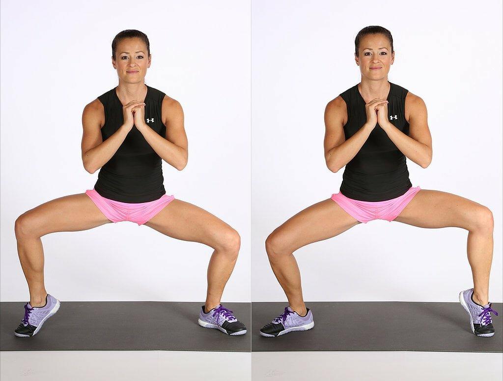 Упражнения для внутренней части бедра: комплекс для занятий в тренажерном зале и на фитболе (фото и видео)