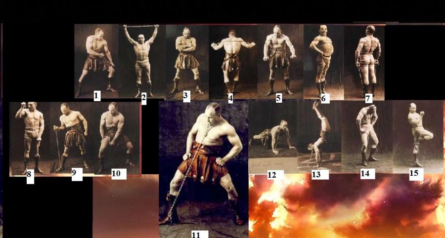 Сухожильные упражнения засса (железного самсона) - bambumasajes jimdo-page!