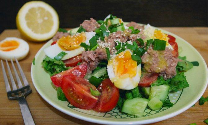 Самый лучший салат для сушки тела