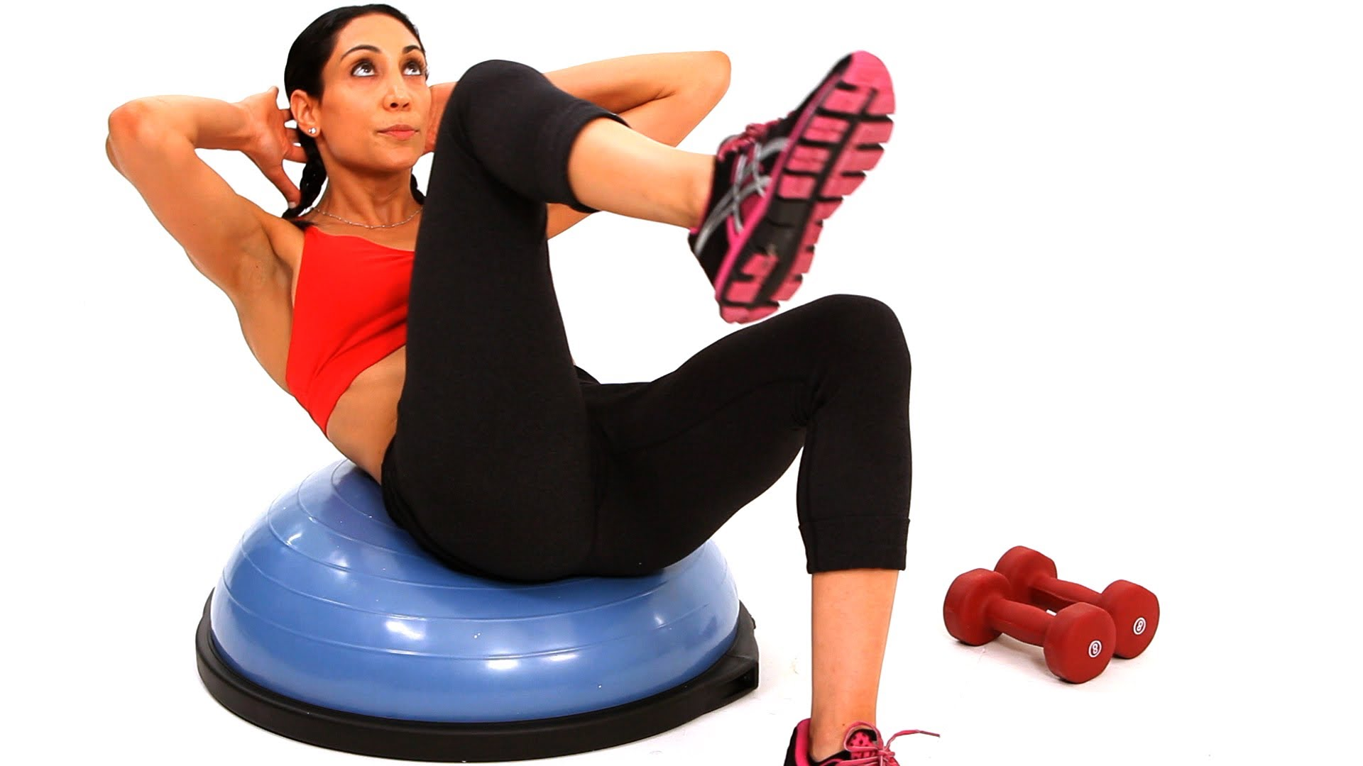 Что такое полусфера bosu и упражнения для нее