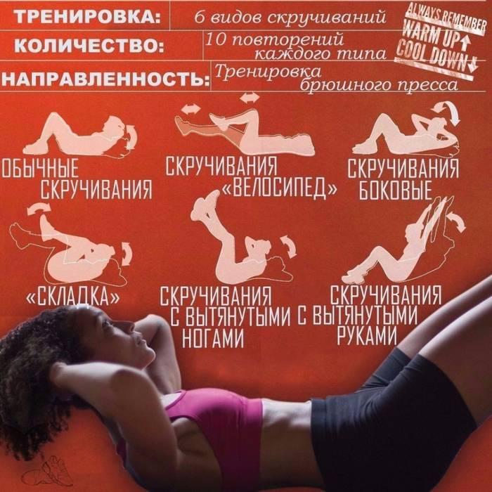 Эффективная тренировка пресса: лучшие упражнения и программа на пресс