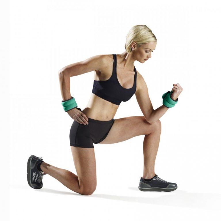 Упражнения с утяжелителями для ног, назначение, техника выполнения