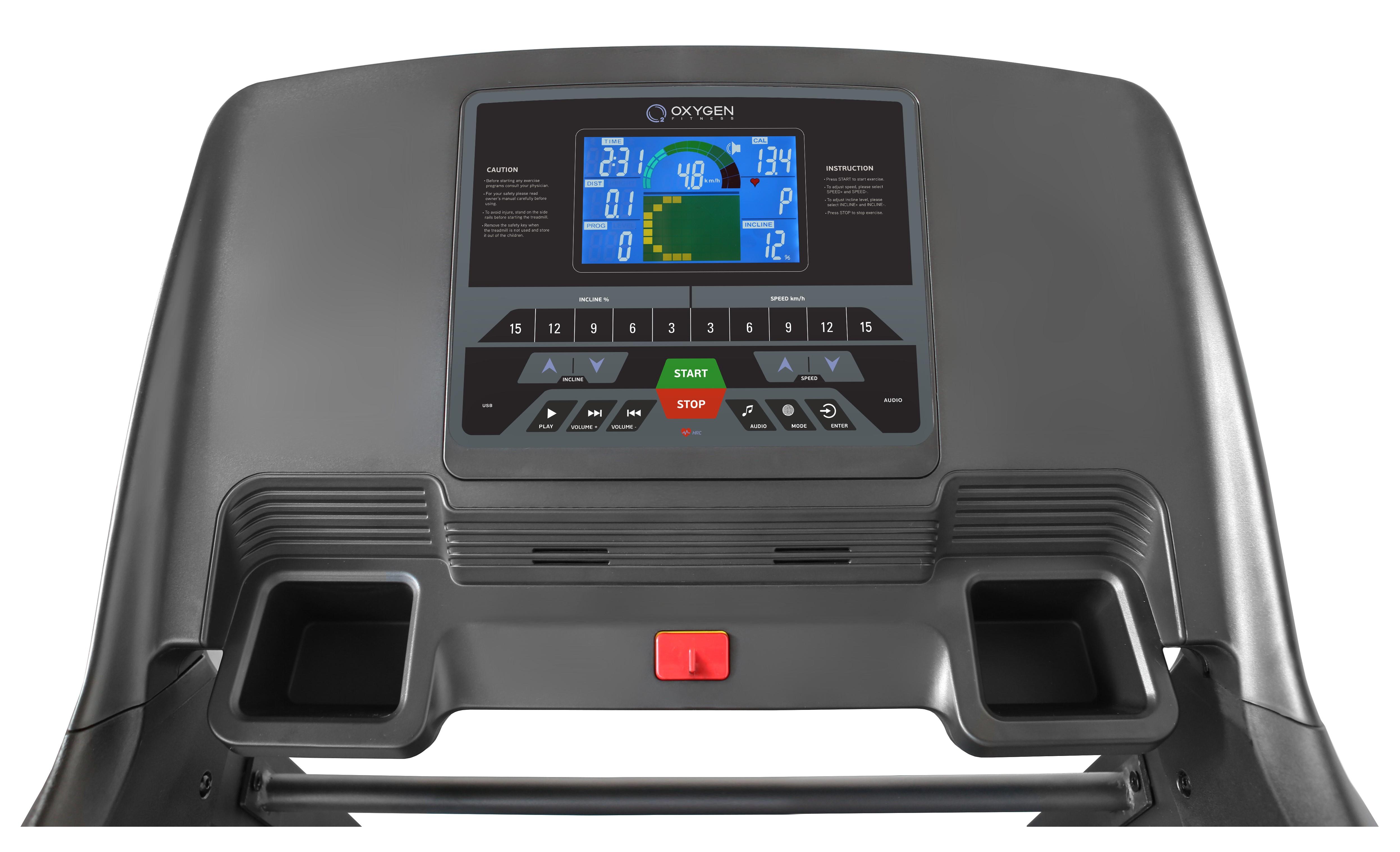 Беговая дорожка oxygen quanta hrc (черный) купить за 78990 руб в самаре, отзывы, видео обзоры и характеристики