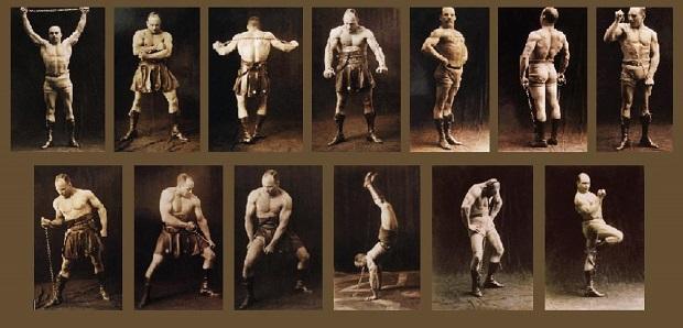 Сухожильные упражнения засса (железного самсона) » фатальная энергия
