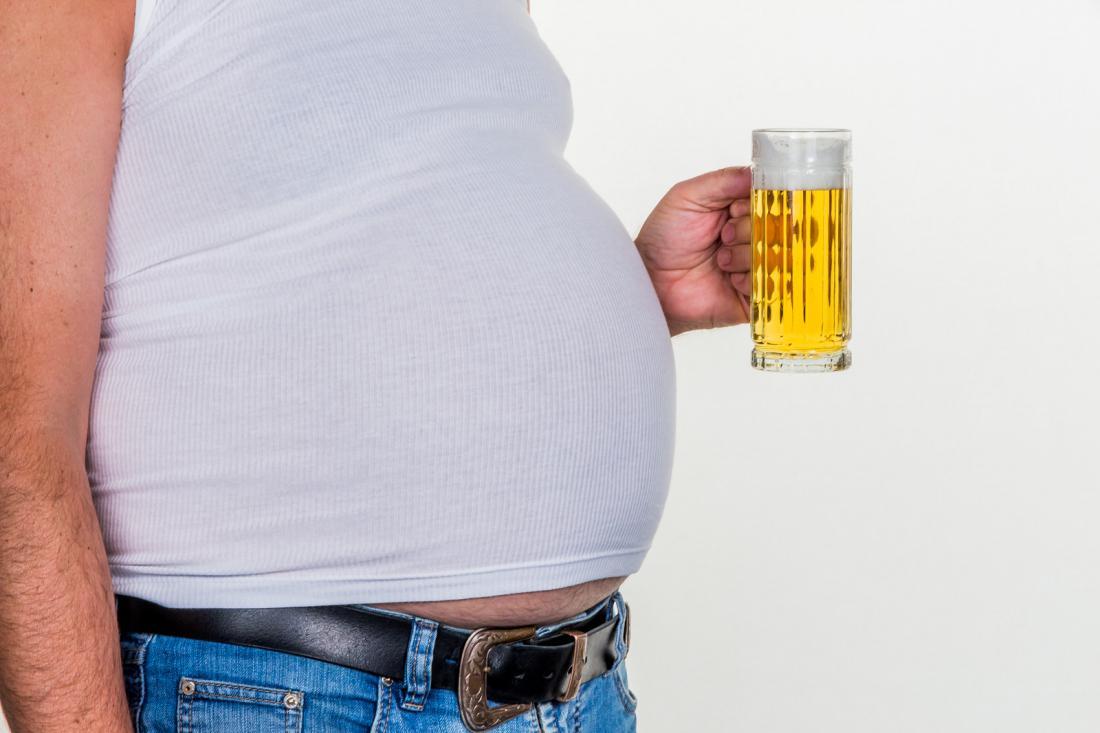 Пивной живот у женщин: причины появления как убрать