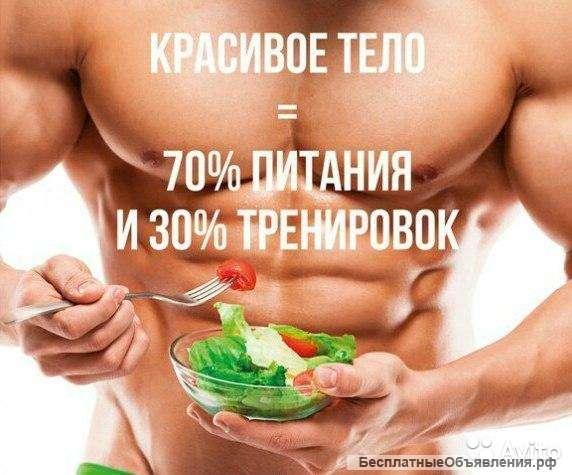Правильное питание спортсмена: меню на неделю | proka4aem.ru
