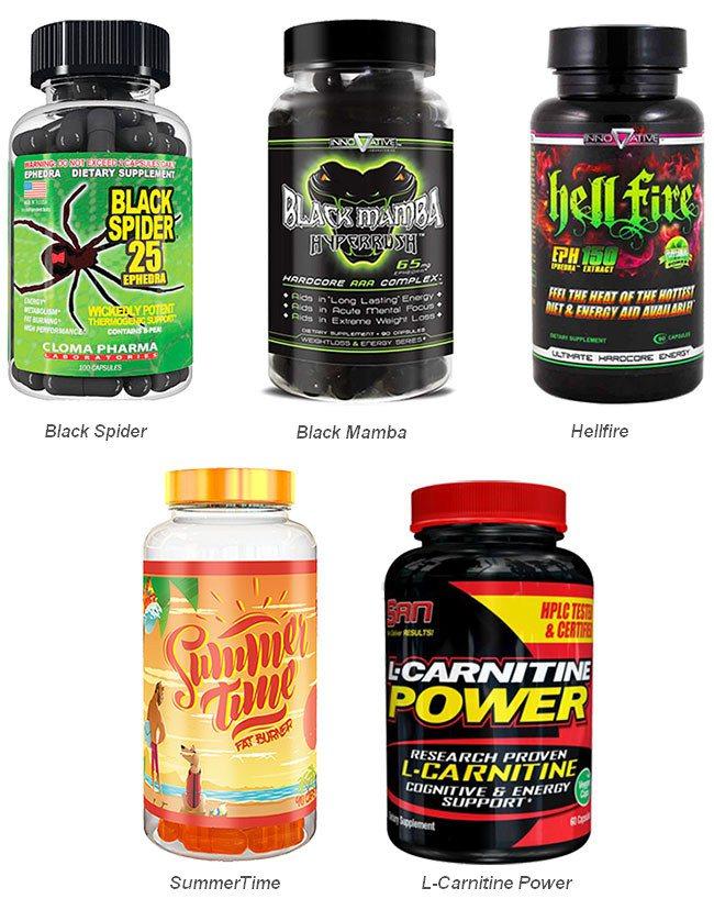 Жиросжигатели - спортивное питание для похудения