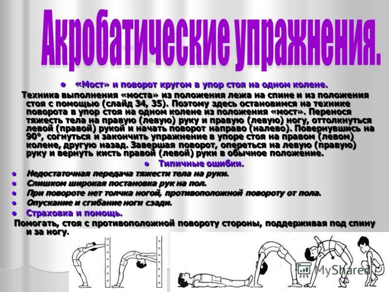 Гимнастический мостик упражнение  |   лечение артроза и артрита, лечение суставов