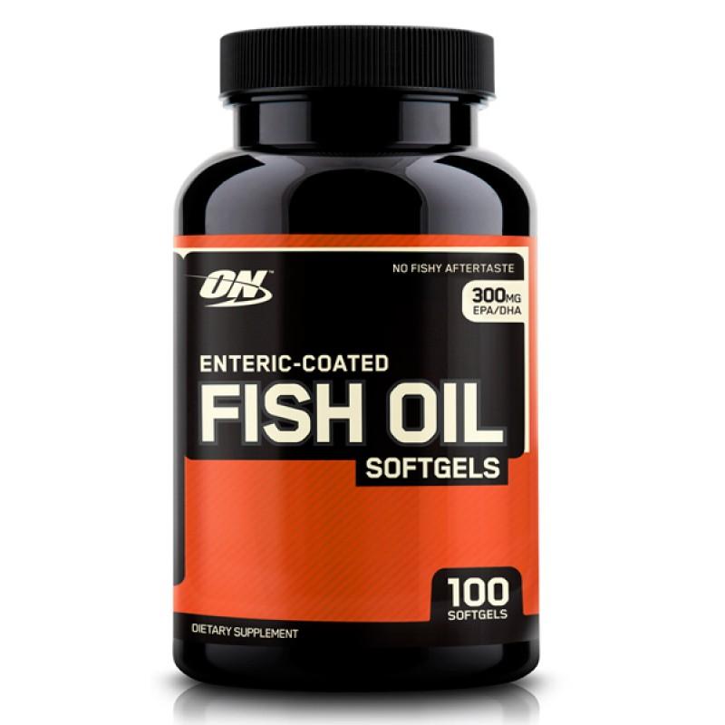 Рыбий жир optimum nutrition enteric coated fish oil softgels