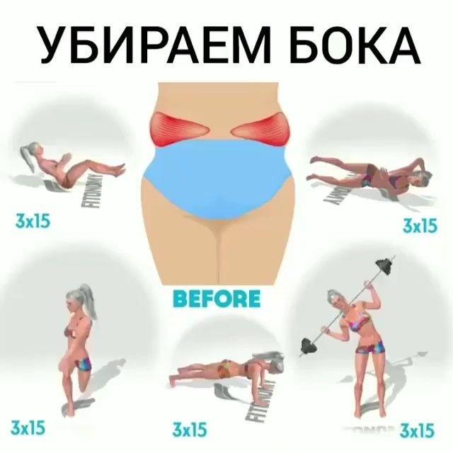Как убрать бока на талии: правильное питание, эффективные упражнения