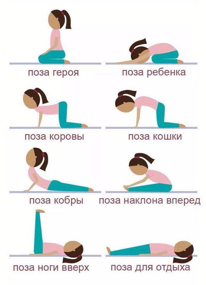 Упражнения для похудения перед сном — похудение