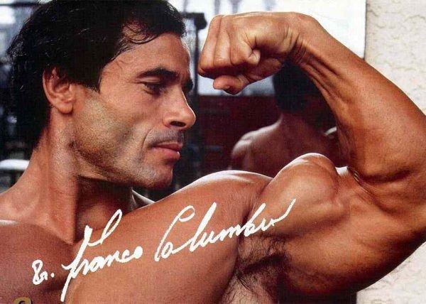 Франко коломбо: невероятное развитие верха груди и спины | спорт и здоровье