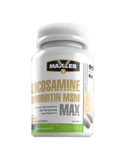 Maxler glucosamine chondroitin msm: состав, форма выпуска, цена
