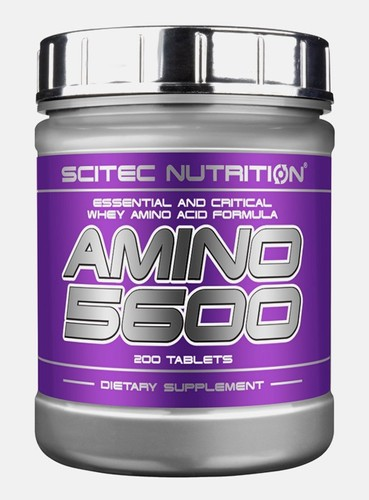 Аминокислоты scitec nutrition amino 5600, 200 tabl