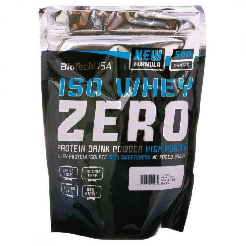 Iso whey zero natural - biotechusa