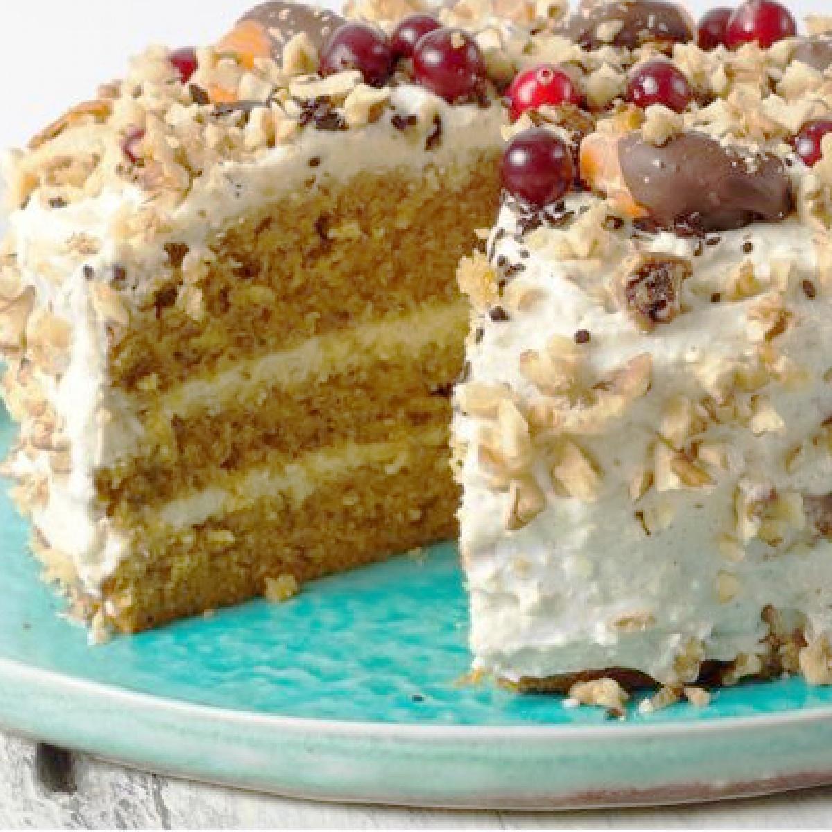 Рецепт торта пп без сахара - с калорийностью и пошаговыми фото.