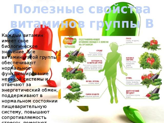 Чем полезны витамины b