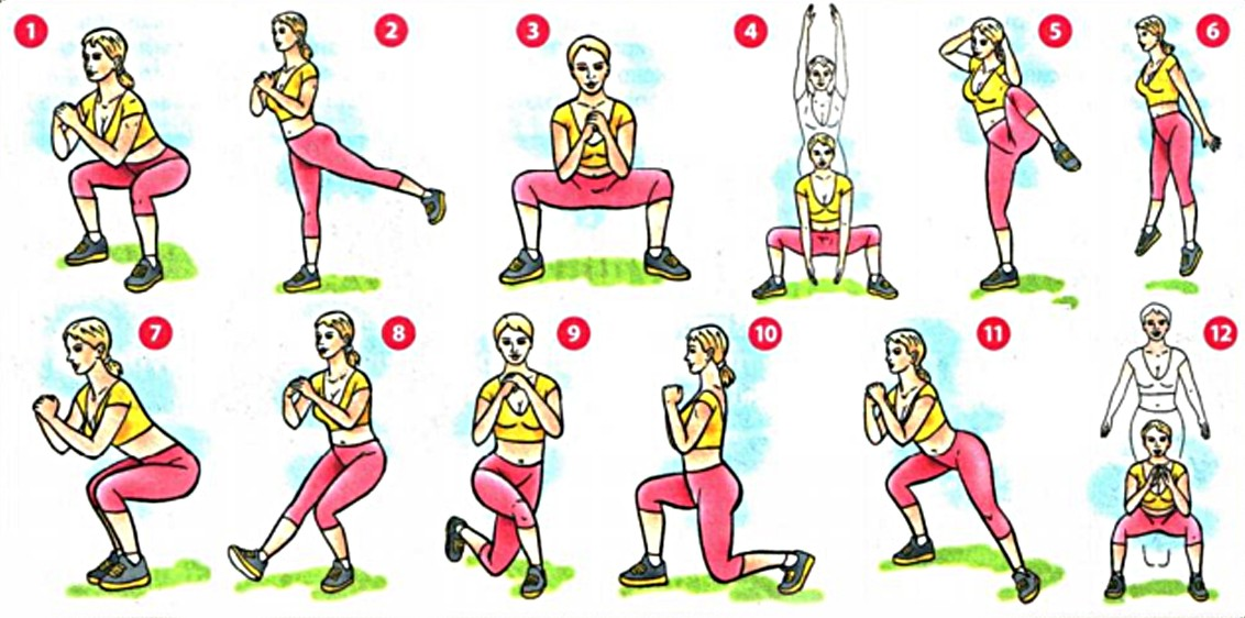 Как накачать ноги в домашних условиях девушкам: упражнения и программа тренировок | качаем красивые и стройные ноги дома