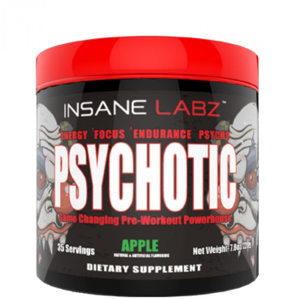 Предтренировочный комплекс психотик – мощное средство для эффективной тренировки