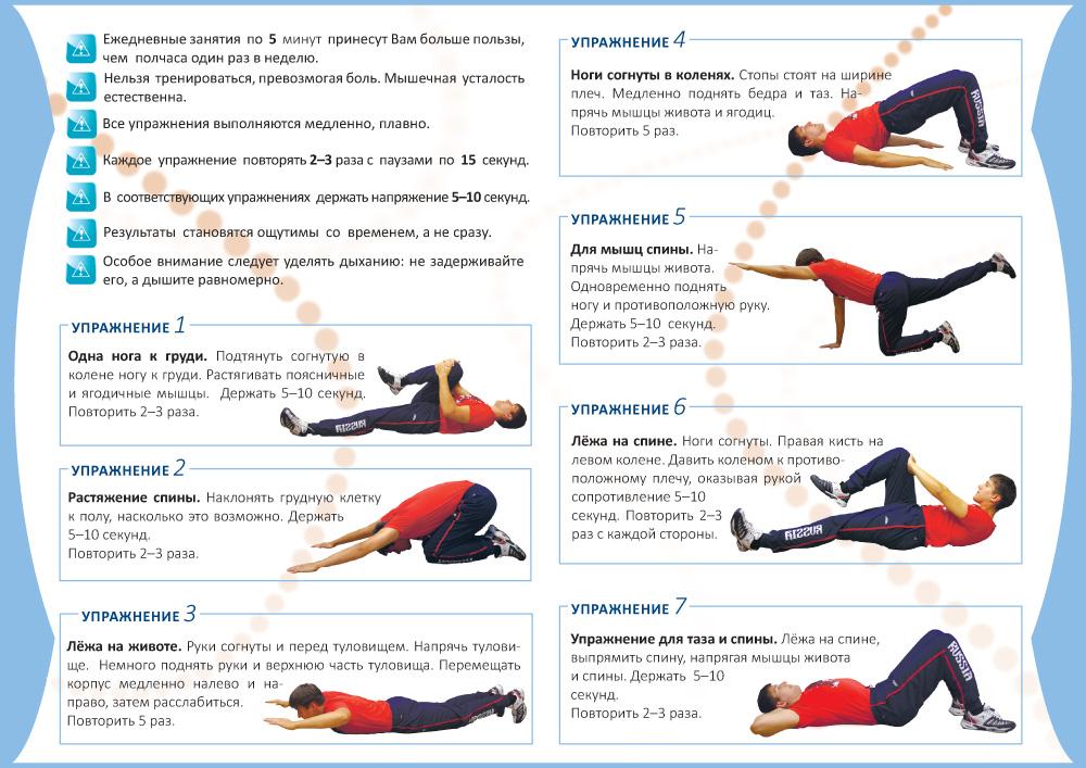Топ-20 лучших упражнения для поясницы: инструкция для новичков, как укрепить мышцы (105 фото)