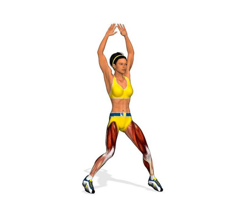 Джампинг джек: видео упражнения. техника выполнения jumping jack