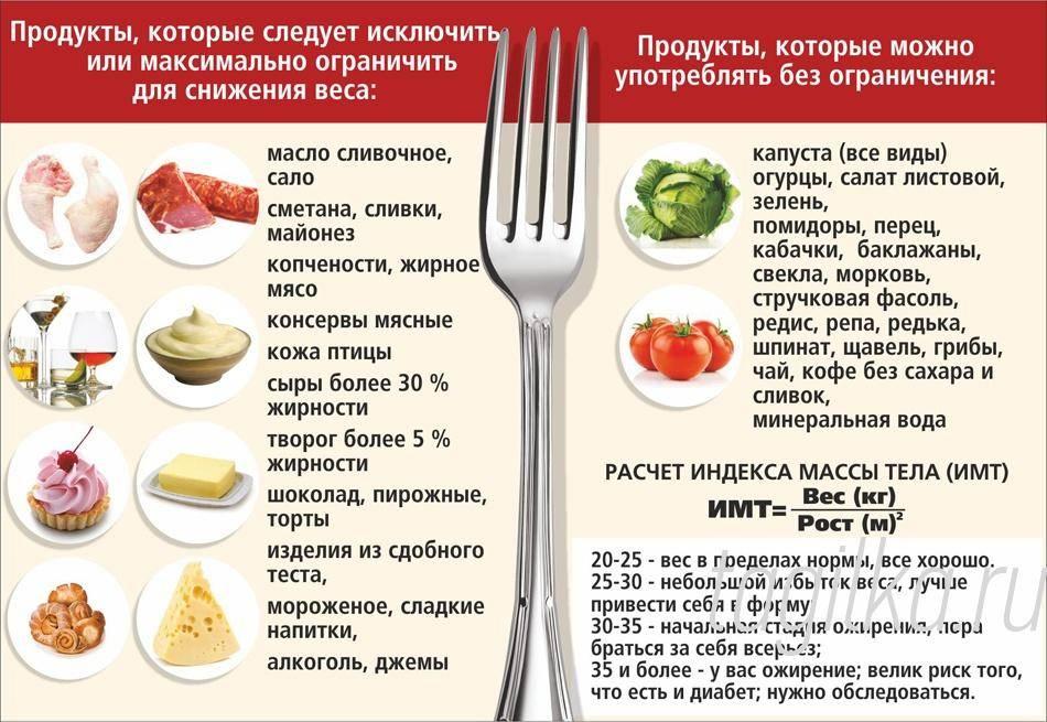 Дробное питание – суть и меню на неделю