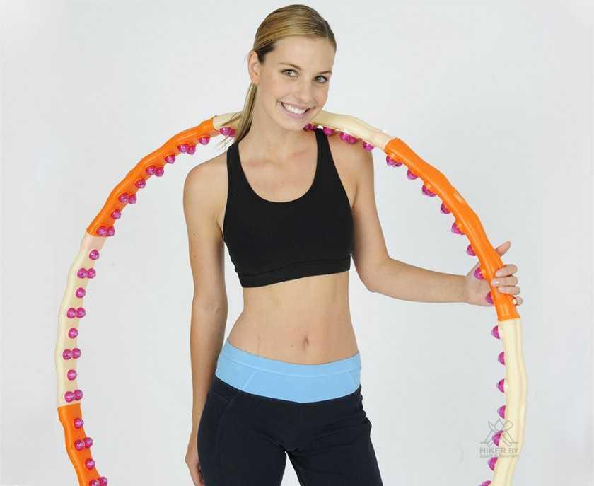 Как похудеть в животе с помощью обруча