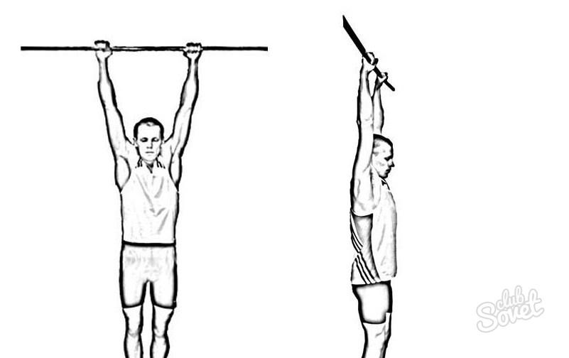 Упражнения на турнике при остеохондрозе: висы и полувисы
