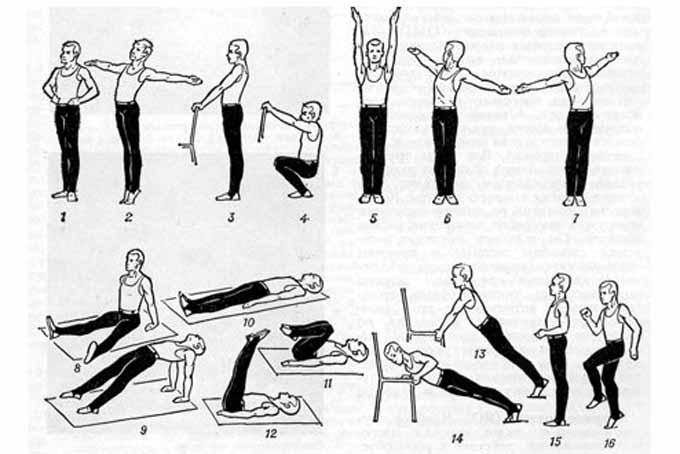 Утренняя зарядка для похудения, эффективная тренировка для всех частей тела