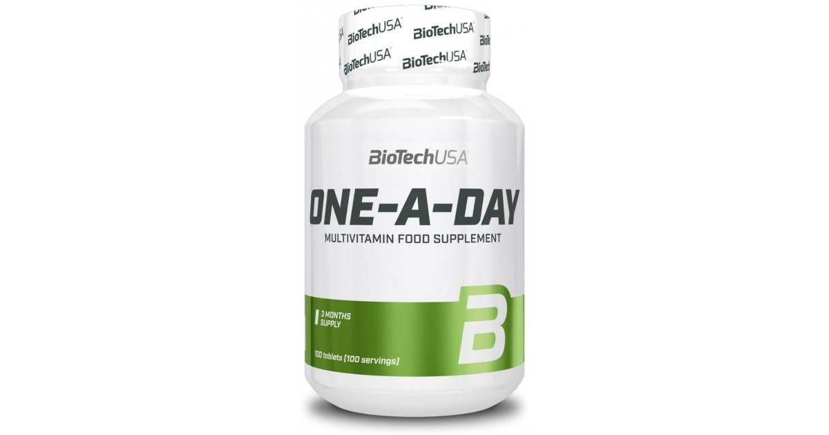 Biotech usa one-a-day 100 таблеток - витамины и минералы