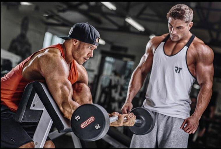 Спорт если делать эти 5 упражнений, у тебя будет могучий бицепс