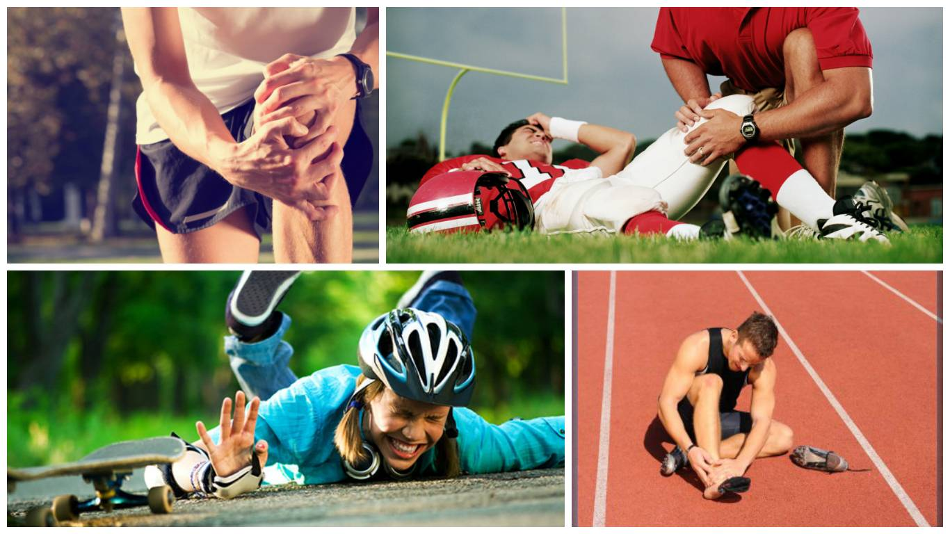 5 самых частых спортивных травм. Как их избежать?