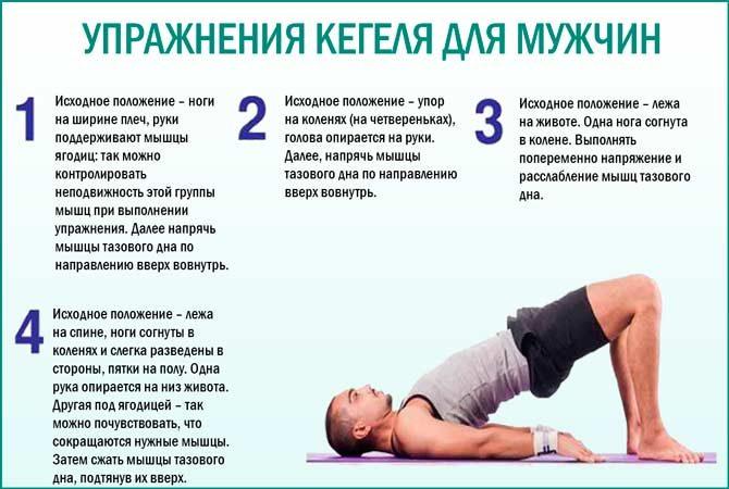 Упражнения для укрепления мышц тазового дна у женщин