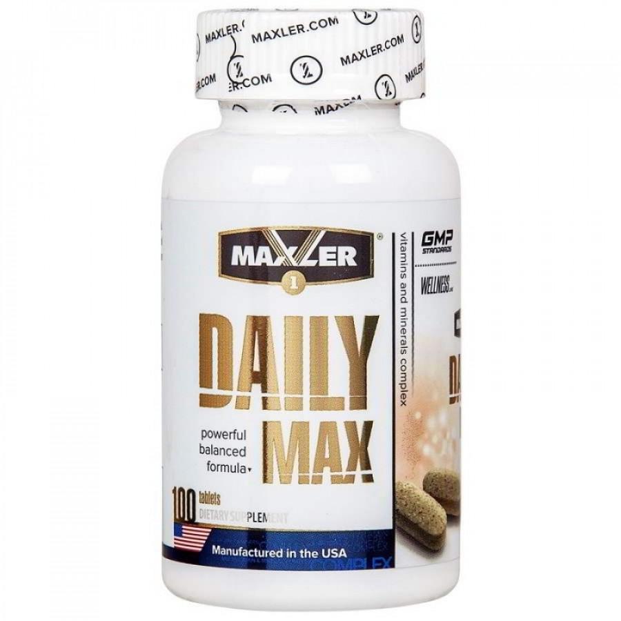 Daily max от maxler: как принимать витамины, отзывы и состав