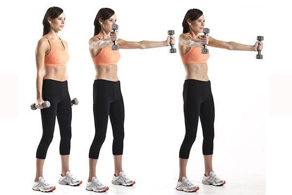 Упражнения для рук для похудения в домашних условиях: с гантелями и без / mama66.ru