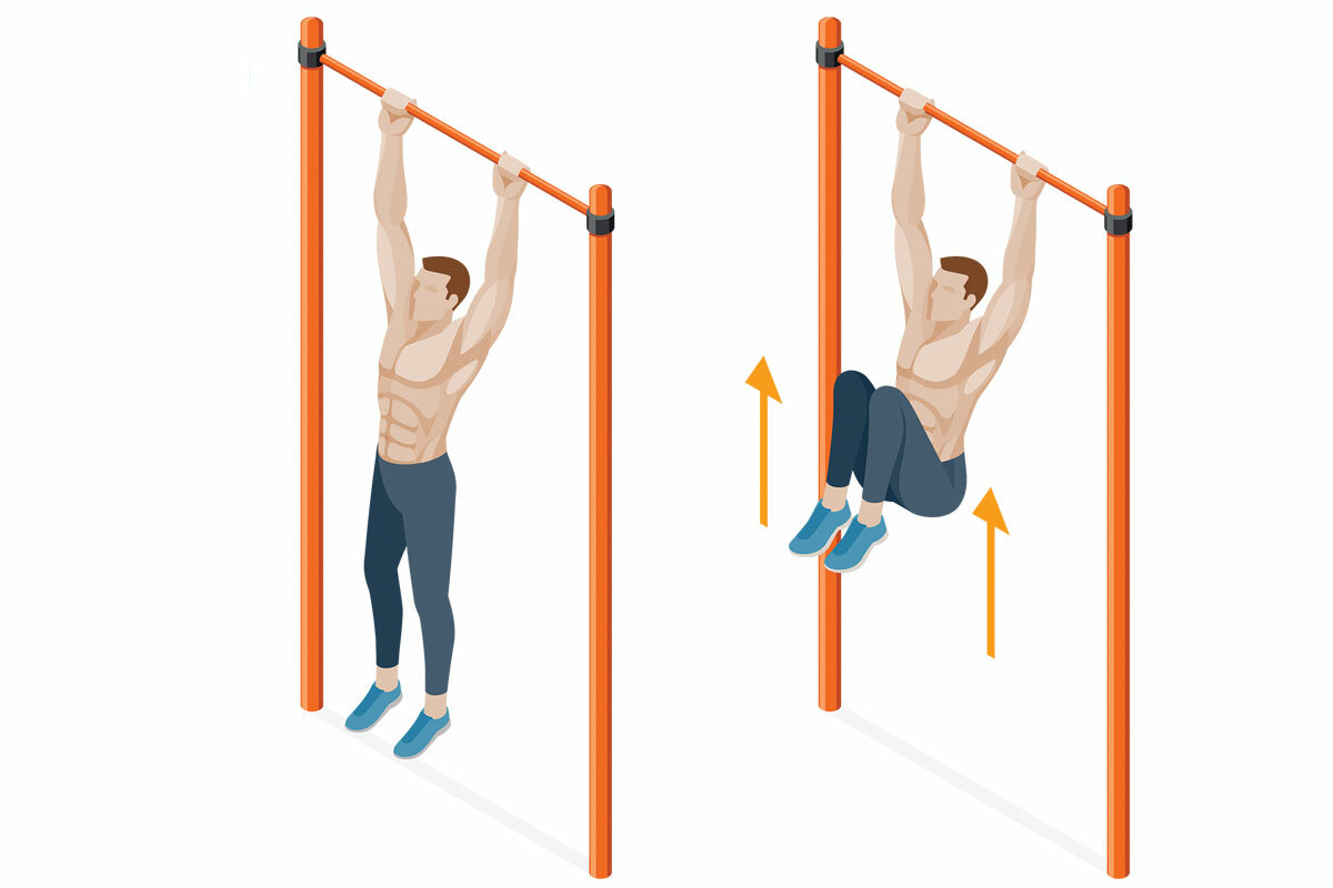 Упражнения, которые нужно делать, чтобы научиться подтягиваться на турнике и увеличить количество повторений в подходе