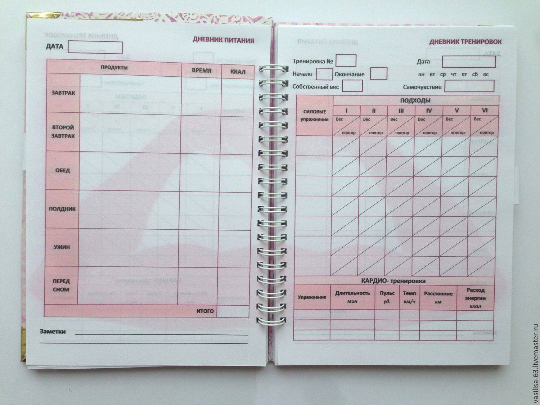 Дневник тренировок — как вести? спортивный дневник: правила и советы
