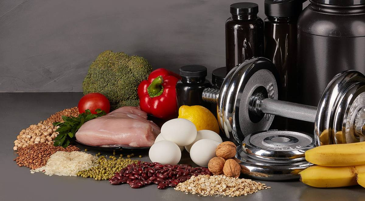 Белковое питание спортсмена для набора мышечной массы