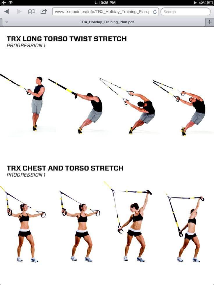 Упражнения с петлями trx - чем хороши и как с ними тренироваться...