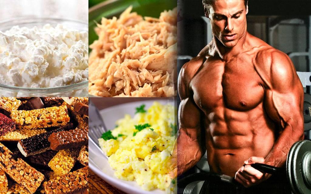 Правильное питание для спортсменов: меню на неделю |