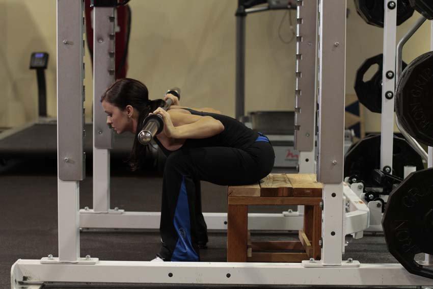 Упражнение гуд монинг: техника выполнения со штангой