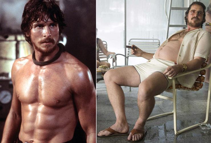 13 известных актёров, которые сильно поправились или сбросили вес специально для роли
