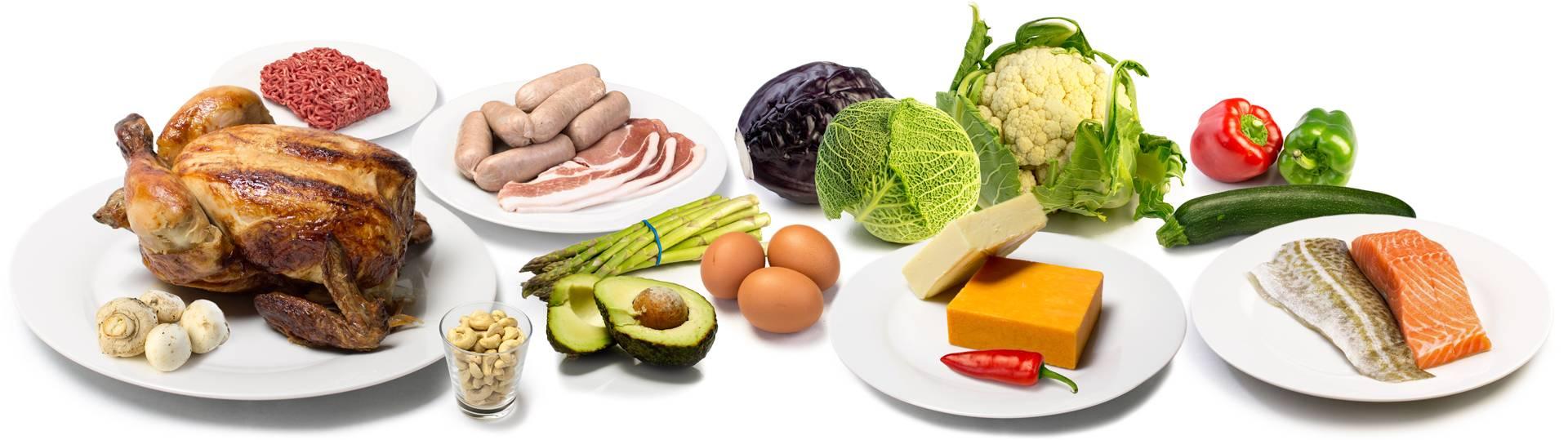 Безуглеводные продукты, полный список низкоуглеводных продуктов