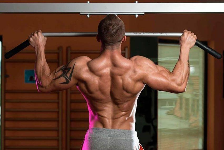 Как накачать широкую спину?