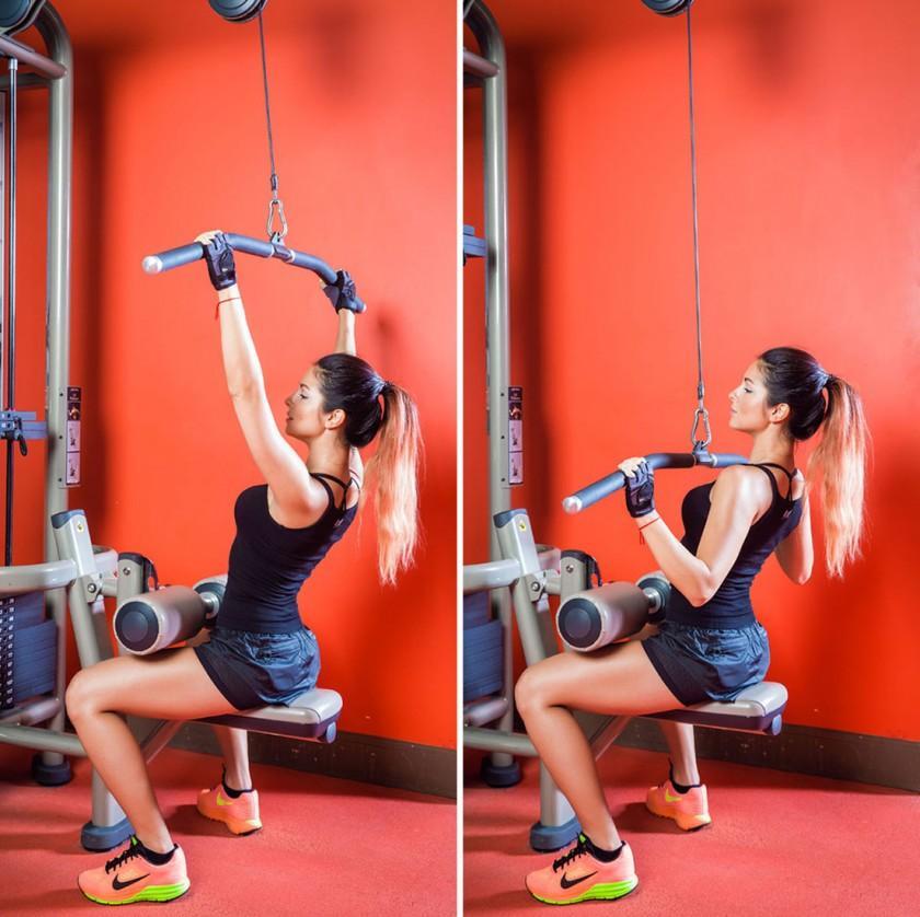 Лучшие упражнения на спину в тренажерном зале для девушек, помогут накачать красивую спинуwomfit