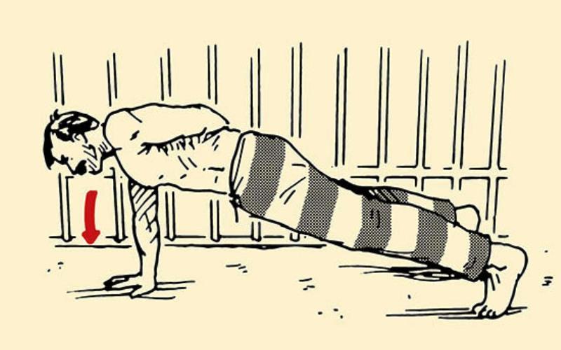 Тренировки чарльза бронсона, программа тренировок в тюрьме