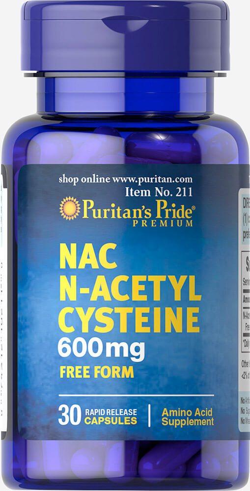 Лучший цистеин – рейтинг препаратов с ценами в аптеке и на iherb
